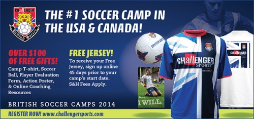 Challenger British Soccer Summer Camps