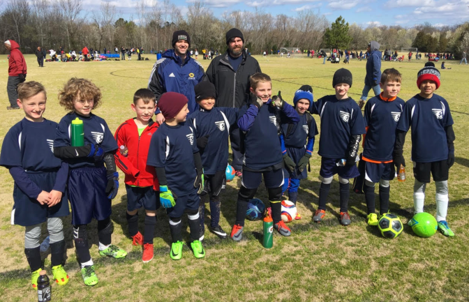 U9 Boys Travel to Fredericksburg