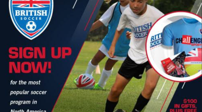 Join Us At Summer Camp – British Soccer Camp 7/16-20