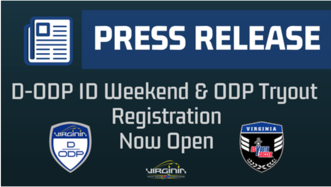 ODP ID & Tryouts Announced
